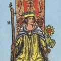 Queen in Tarot Court