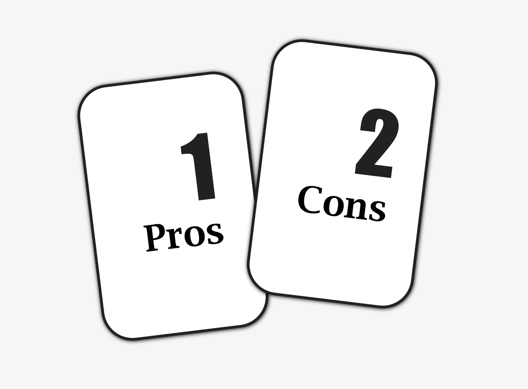 Two Card Spread: Pros and Cons