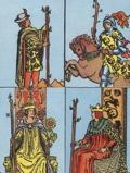 Wands Court in Tarot