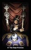 Steampunk Tarot High Priestess