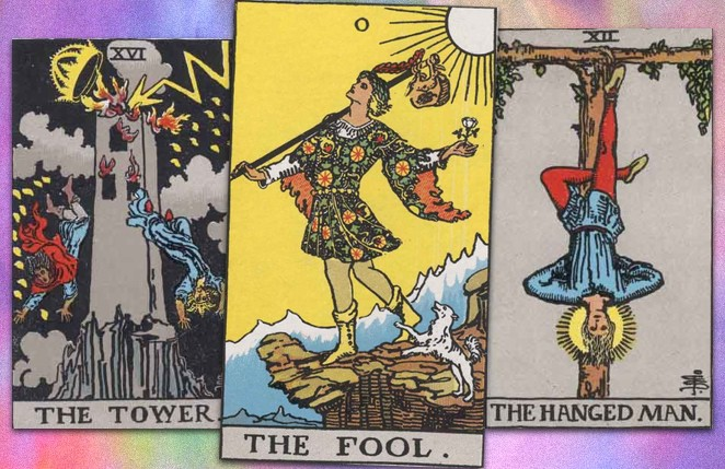 major arcana tarot cards