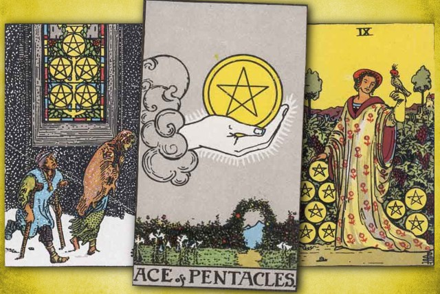 Tarot Pentacles Suite