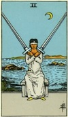 Tarot Two of Swords