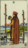 Tarot Two of Wands