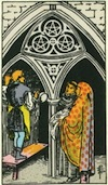 Tarot Three of Pentacles