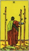 Tarot Three of Wands