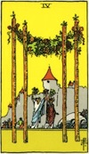 Tarot Four of Wands