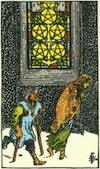 Tarot Five of Pentacles