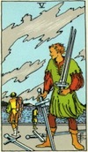 Tarot Five of Swords