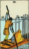 Tarot Six of Swords