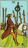 Tarot Six of Wands