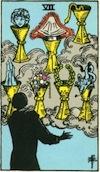 Tarot Seven of Cups