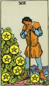 Tarot Seven of Pentacles