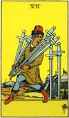 Tarot Seven of Swords