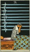 Tarot Nine of Swords