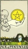 Tarot Ace of Pentacles