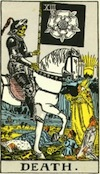 Tarot Death (Major Arcana)