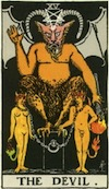 Tarot Devil (Major Arcana)