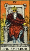 Tarot Emperor (Major Arcana)