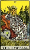 Tarot Empress (Major Arcana)