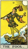 Tarot Fool (Major Arcana)