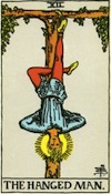 Tarot Hanged Man (Major Arcana)