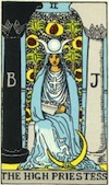 Tarot High Priestess (Major Arcana)