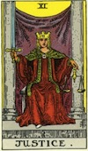 Tarot Justice (Major Arcana)