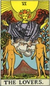 Tarot Lovers (Major Arcana)