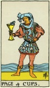 Tarot Page of Cups