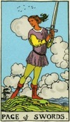 Tarot Page of Swords