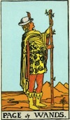 Tarot Page of Wands
