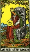 Tarot Queen of Pentacles