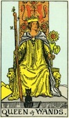 Tarot Queen of Wands