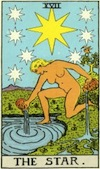 Tarot Star (Major Arcana)