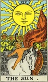 Tarot Sun (Major Arcana)