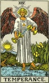 Tarot Temperance (Major Arcana)